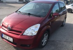 Toyota Corolla Автомат , 7 мест, 1.8 бензин, с машиной всё в порядке. Техосмотр: 11.2021  95 kW