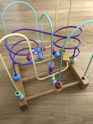 Детский мотоцентр, детская деревянная игрушка