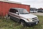 Mitsubishi Pajero MITSUBISHI PAJERO PININ  2001 года 2.0 бензин  95 киловатт  206000 пробег Мануал Цена: 1100€  Машина заводиться, большие обороты держит . ( нужно заменить дроссельную заслонку). Тел: 56686361