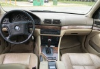BMW 525 Тип кузова:седан Первичная рег:1997 Двигатель:2.5 (125 kW) Топливо:бензин Показ одометра: Ведущий мост:задний привод Коробка передач:автомат Цвет:темно-зеленый Рег. номер483VMK
